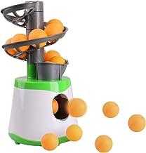 Dilwe Entrenador de Ping Pong M/áquina de Entrenamiento de Tenis de Mesa Robot de Entrenamiento de Rebote R/ápido para A cariciar