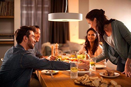 Philips Hue White Ambiance LED Lampe E27 Starter Set inkl. Dimmschalter und Bridge, alle Weißschattierungen, steuerbar via App, Standard Verpackung [Energieklasse A+] - 5