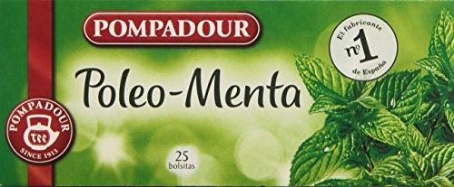 Pompadour - Poleo-Menta, Té, 25 bolsitas