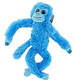 Aurora World 60202 - Hängender Chimpanse, Plüschtier, 19 Zoll, blau