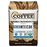 Fresh Roasted Coffee LLC, Organic Mexican Chiapas Swiss Water Decaf Coffee, Medium Roast, Whole Bean, 2 Pound Bag