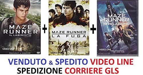 Maze Runner - La Trilogia Collection (3 Dvd) - Edizione Italiana ⚠️ VENDUTO DA VIDEO LINE ⚠️