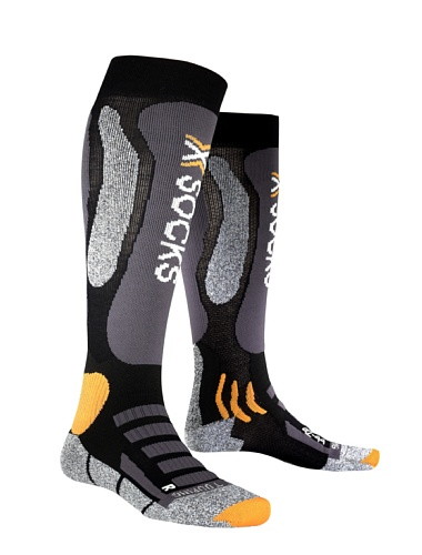 X-Socks Touring Silver Chaussettes Noir 45-47