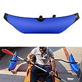 Lixada Kayak estabilizador PVC Inflable Outrigger Kayak Canoa Barco de Pesca de Pie Flotador Sistema Estabilizador (Azul)