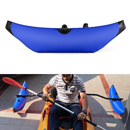 Lixada Kayak estabilizador PVC Inflable Outrigger Kayak Canoa Barco de Pesca de...