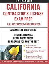 California Contractor's License Exam Prep