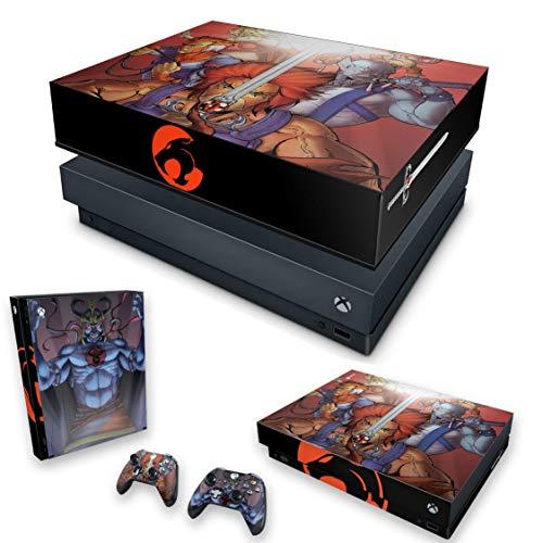 Capa Anti Poeira e Skin para Xbox One X - Thundercats