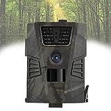 12MP Cámaras de Caza 1080P FHD Impermeable,Gran Angular de 120° y 30pcs IR LED Infrarrojo Visión Nocturna con hasta 65ft/20m, Sendero Juego Camera, Cazar Vigilancia de la Fauna