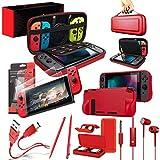 Switch Accesoires, Orzly Zubehör für Nintendo Switch (Panzerglas Schutzfolien, USB Ladekabel,...
