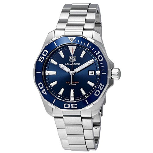 Tag Heuer Aquaracer Blue Dial Mens Watch...