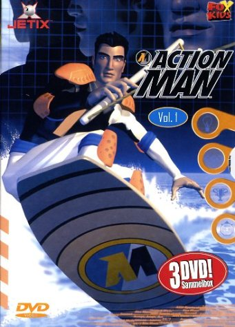 Action Man, DVD Box Vol. 01, Episoden 01-09 (3 DVDs)