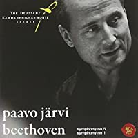 Beethoven: Symphonies Nos. 5 & 1 by JARVI / BREMEN GERMAN CHAMBER PHIL