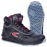 Cofra 78470-000 - Seguridad Botas Puskas correr, zapatos de seguridad S3, Cuero Negro, Tamaño 43, Negro
