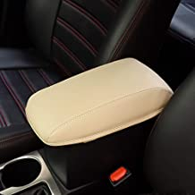 Leegi Car Armrest Box Cover Center Console Saver Covers for 2014 2015 2016 2017 2018 Toyota Corolla,Beige