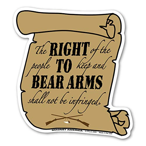 Right to Bear Arms, Second Amendment Magnet