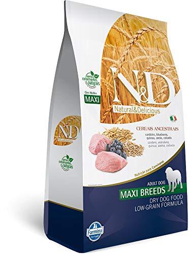 Ração N&D Ancestral Grain Raças Grandes Cordeiro Blueberry 10,1kg