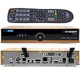 OCTAGON SF8008 4K UHD HDR Combo Limited Gold Edition DVB-S2X & DVB-C/DVB-T2 – Satellite, cavo e segnale terrestre, E2 Linux IPTV Smart TV Box, ricevitore con funzione di registrazione, HDMI, WiFi