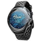 Bruni Pellicola Protettiva compatibile con New Balance NB RunIQ Watch Pellicola Proteggi, cristallino Proteggi Schermo (2X)