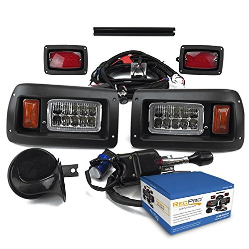 New RecPro Club CAR DS Golf CART Deluxe Street Legal All LED Light Kit 1993-UP Missouri