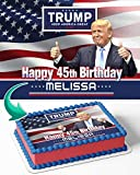 Cakecery Donald Trump Make America Great Again Edible Cake Image Topper...