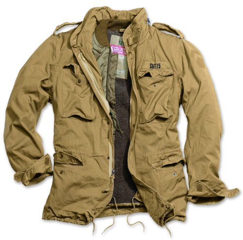 Chaqueta para hombre Delta Giant M65 Regiment beige S