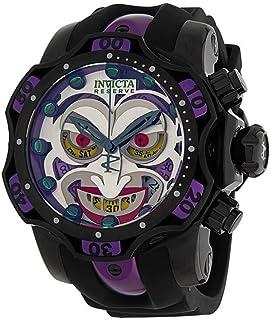 ساعة إنفيكتا 33813 دي سي كوميكس جوكر فينوم بإصدار محدود أسود للرجال