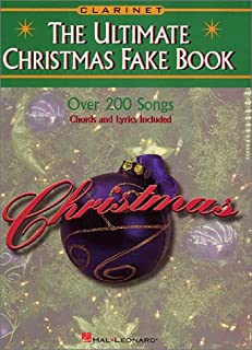 The Ultimate Christmas Fake Book - Clarinet