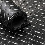 Tapis de sol en caoutchouc pour garage, camping-car, équine – 16 variantes au choix | Tapis de sol de 3 mm d'épaisseur, 1,5 m de largeur | Grade A (caoutchouc, 2 m x 1,5 m)