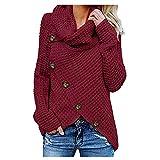 LEXUPE Women Autumn Winter Warm Comfortable Coat Casual Fashion Jacket Long Sleeve Solid Sweatshirt Pullover Tops Blouse Shirt