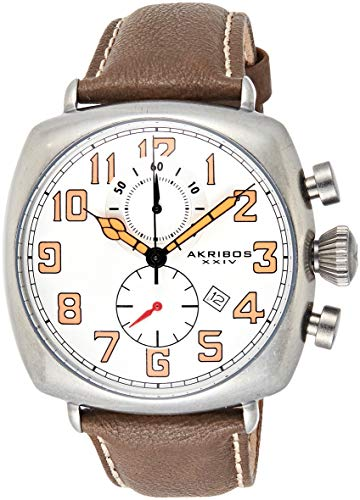 Akribos XXIV Reloj con Movimiento Cuarzo japonés Man AK786WT 46 mm