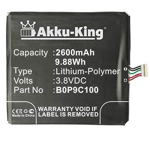 Akku-King Akku kompatibel mit HTC B0P9C100 - Li-Polymer 2600mAh - für HTC Desire 816, 816 Dual SIM, 816G, 816G Dual SIM, 816T, 816V, 816W, 820G Dual SIM