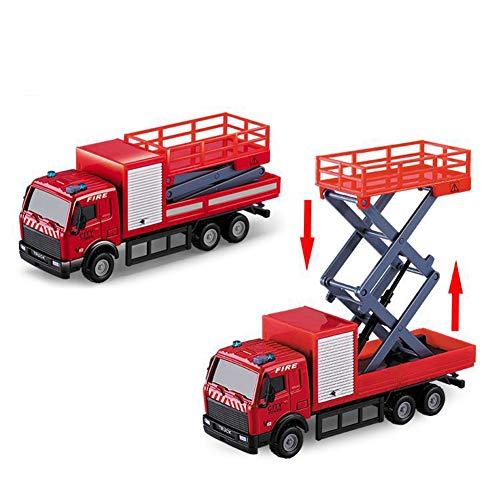 6 in 1 Kinder Mini Metall Auto Spielzeug, Fahrzeug Sets Lernspielzeug Technik Fahrzeugmodell b