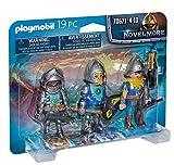 PLAYMOBIL Set de 3 Caballeros de Novelmore (70671)