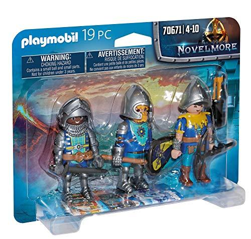 PLAYMOBIL Novelmore 70643 Set de Caballeros