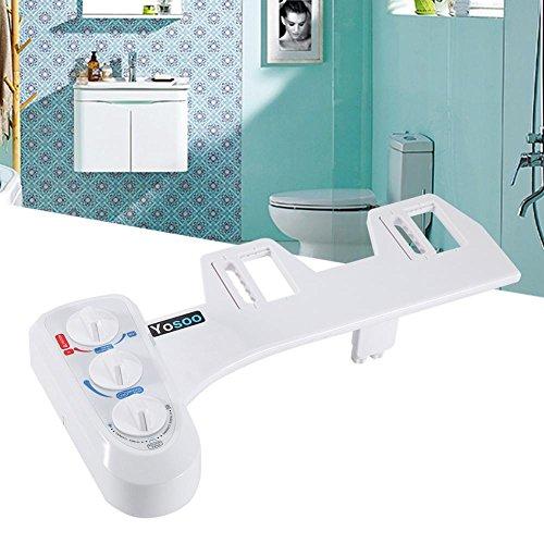Baño bidé WC, ducha confort con agua caliente, bidé con chorro fresco...
