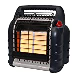 Mr. Heater F274830 MH18BRV Big Buddy Grey Indoor-Safe Portable RV Propane Heater (4,000 , 9,000 and...