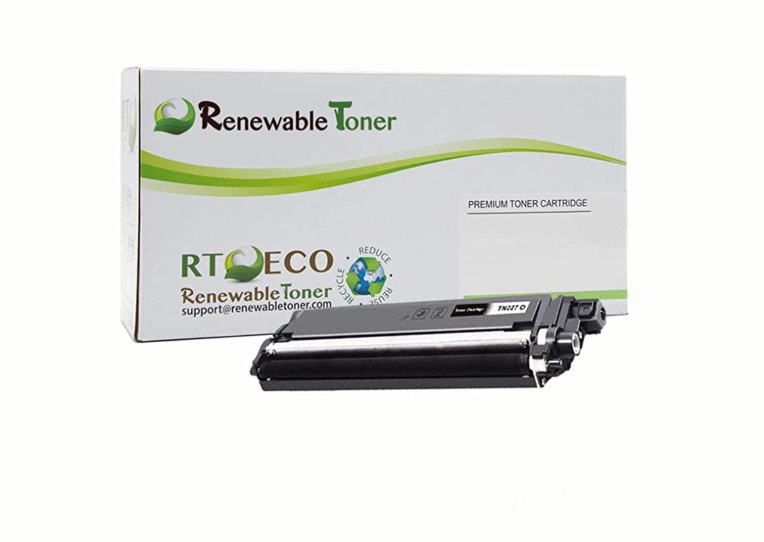 Renewable Toner Compatible Toner Cartridge Replacement for Brother TN227 TN-227 HL L3270, L3210, L3230, L3290, MFC L3710, L3750, L3770 (Yellow) uyd75075843