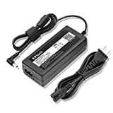 19.5V 3.33A 65W AC/DC Adapter Replacement for HP Pavilion 17-AK 17-BSxxxx 17-x010ca 17-x020ca 17-x032na 17-x114dx 17-x115dx 17-x116dx 17-x122dx 17.3' LED Laptop Notebook PC Power Supply Cord