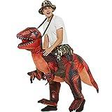 XCCV Dinosaurio Tyrannosaurus Traje de Montar Traje Inflable Disfraz de Halloween Navidad Juego de rol-Horror del Partido del Vestido Traje determinada Red