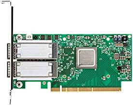 Mellanox ConnectX-5 Ex VPI Network Adapter PCI Express 4.0 x16 Gb Ethernet 10 Gb Ethernet 40 Gb Ethernet Green/Silver (MCX...
