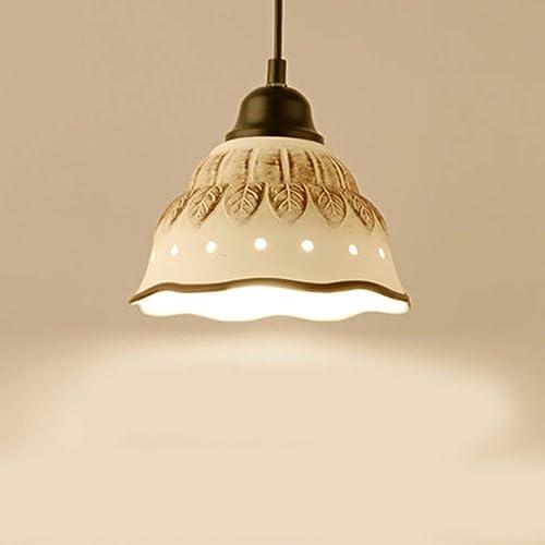 GWFVA Restaurant lumières Moderne Minimaliste Salon lumière Bar Céramique Lustres Satisfaction (Couleur  A)