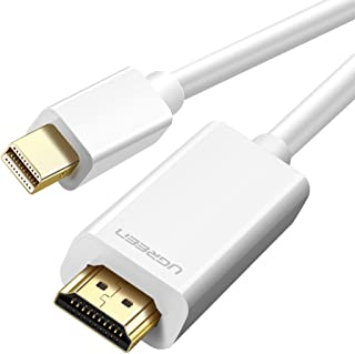 UGREEN Mini Displayport to HDMI Cable (Thunderbolt to HDMI Compatible), Mini DP to HDMI Adapter Cable Compatible 1080P Ful...
