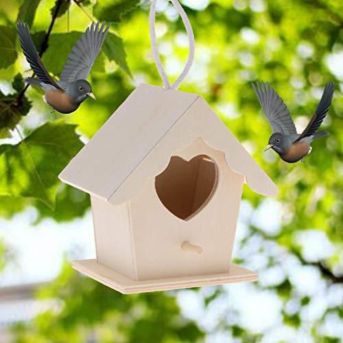 Ogquaton Vogelfutterhaus zum Aufhängen,...