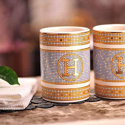 Taza De Viaje Taza De Cafe Mug Taza De Dientes De Cerámica Magnesia Porcelana