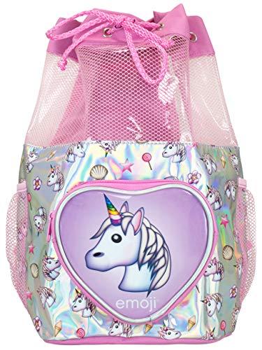 Emoji Kinder Einhorn Strandtasche