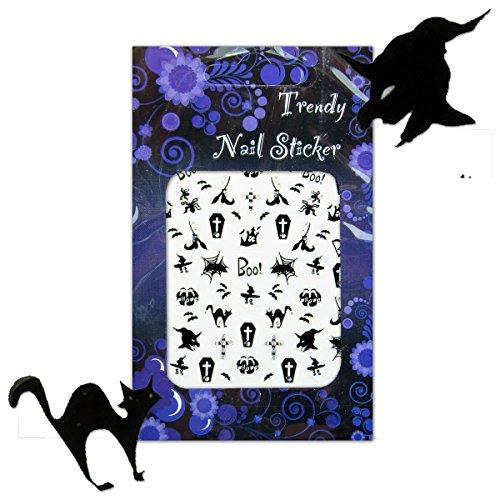 Gothic/Halloween Nailart Sticker/Nagelsticker (SHS05)