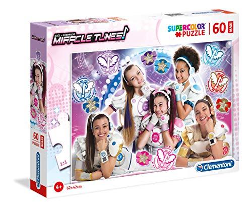 Clementoni- Miracle Tunes Puzzle, 60 Pezzi, Multicolore, 26449