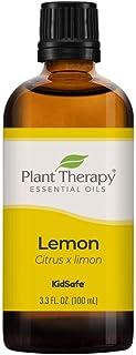 Plant Therapy Essential Oil - Lemon for Unisex - 3.4 oz Essential Oil