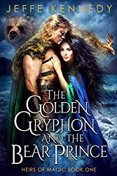The Golden Gryphon and the Bear Prince by Jeffe Kennedy book cover