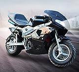 Fly-Love Gas Pocket Bike,49cc Gas Pocket Bike of Steel Frames,2-Stroke Engine Motorcycle Holeshot Off Road Motorcycle for Kids...